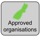 Approved organisations